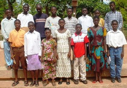 Some of the first selected smart kids, in 2004