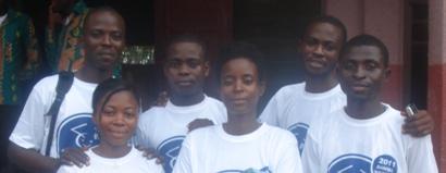 4 members of the SmartKids Junior Board and coordinators in 2011