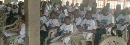 around 75 smart kids at annual meeting in June of 2011